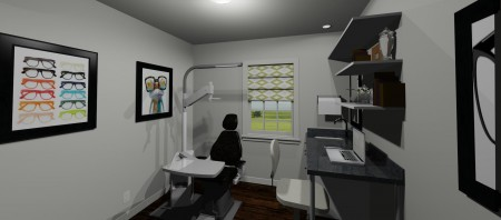 Exam Room Rendering