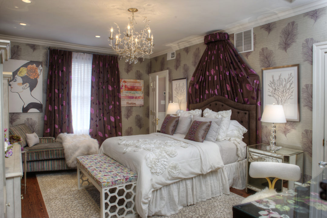 Cape May Showhouse Ensuite Bedroom Main