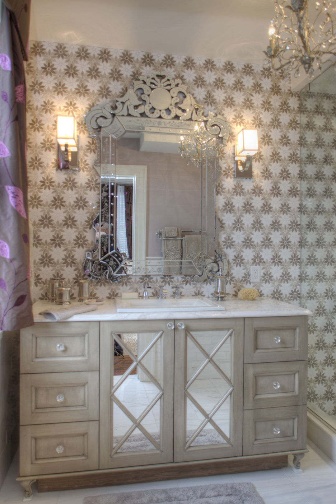 Cape May Showhouse Ensuite Bathroom Main