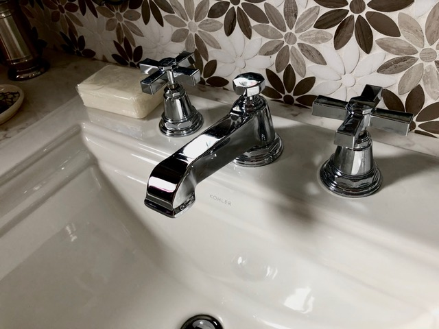 Cape May Showhouse Ensuite Bathroom Fixtures