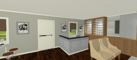 Reception Desk Area