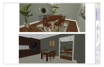 Willowood Dining Rendering