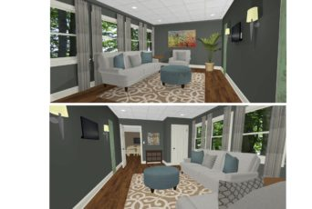 Willowood Living Room Concept
