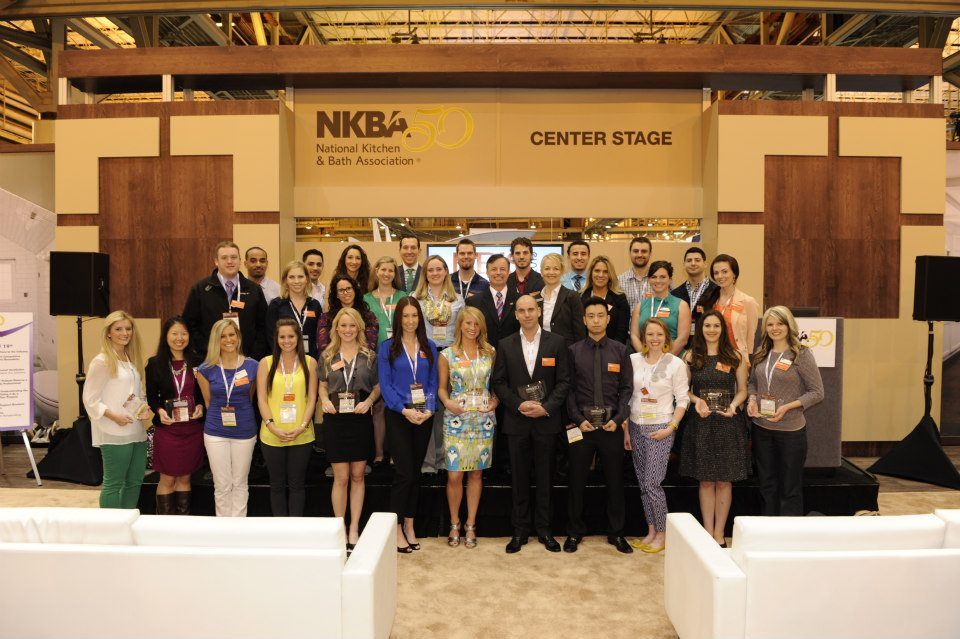 Nina Green from NGD Interiors KBIS 2013 was awarded as a NKBA 30 under 30 young professional in the Kitchen & Bath Industry.